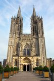 Cathedral in Coutances, France Royalty Free Stock Photos