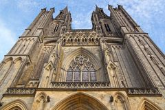 Cathedral in Coutances, France Royalty Free Stock Photography