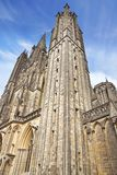 Cathedral in Coutances, France Stock Photo
