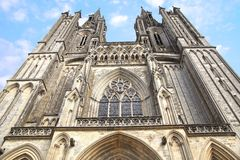 Cathedral in Coutances, France Stock Photos