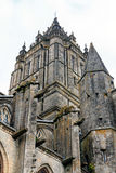 Cathedral in Coutances, Normandy, France Royalty Free Stock Photo