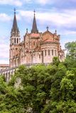 Cathedral of Covadonga Royalty Free Stock Images