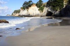 Cathedral Cove. Coromandel, North Island, New Zealand Stock Photos