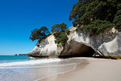 Cathedral Cove Royalty Free Stock Images