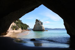 Cathedral Cove Stock Photo
