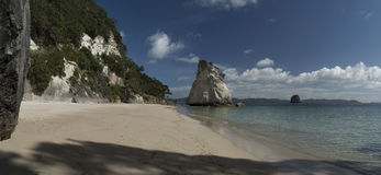Cathedral Cove beach. New Zealand Stock Photo