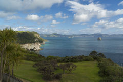 Cathedral Cove coast. New Zealand Royalty Free Stock Photo