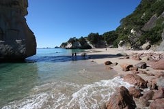 Cathedral Cove, New Zealand Royalty Free Stock Photography