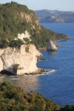 Cathedral Cove, New Zealand Stock Photos