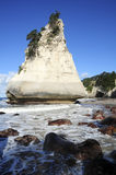 Cathedral Cove - Pinnacle Rock Royalty Free Stock Photo