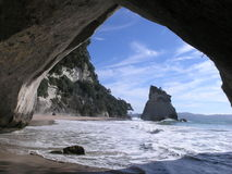 Cathedral Cove Royalty Free Stock Image