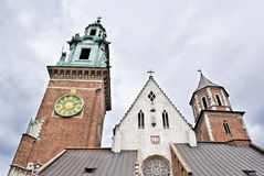 Cathedral in Cracow Royalty Free Stock Photo