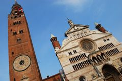 Cathedral, Cremona Royalty Free Stock Images