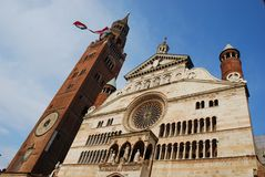 Cathedral, Cremona Royalty Free Stock Photos