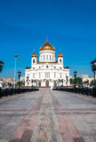 Cathedral of Crist The Savior in Moscow, Russian. Federation Stock Images