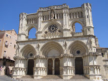 Cathedral of Cuenca. Cuenca´s Cathedthal at medieval old town stock photo