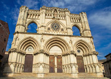Cathedral of Cuenca Stock Images