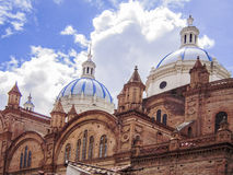 Cathedral in Cuenca, Ecuador Royalty Free Stock Photography