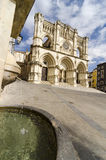 Cathedral of Cuenca. Gothic cathedral of the Cuenca (Basilica of Our Lady of Grace), Castilla La Mancha, Spain Stock Photo