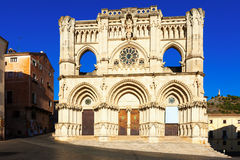 Cathedral of  Cuenca Royalty Free Stock Photography