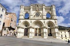 Cathedral. Cuenca 3. CUENCA, SPAIN - APRIL 15, 2013: Cathedral of Cuenca, Castilla La Mancha, Spain Stock Photography
