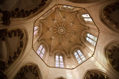 Cathedral cupola. Cupola of the Cathedral of the Monastery of Batalha in Portugal Royalty Free Stock Images