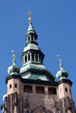 Cathedral cupola in Prague Royalty Free Stock Photos
