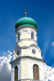 Cathedral cupola on sky background Royalty Free Stock Image