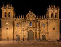 Cathedral in Cusco. Stock Photography