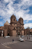 Cathedral in Cusco, Perú Stock Photography