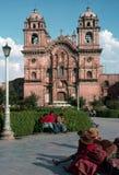 Cathedral, Cusco, Peru Stock Photos