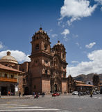 Cathedral - Cusco Peru Stock Photography