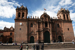 Cathedral of cuzco Stock Photography