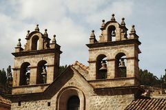 Cathedral in the Cuzco,Peru Royalty Free Stock Image