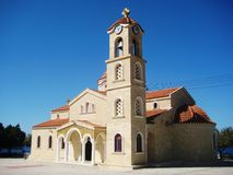 Cathedral at Cyprus Royalty Free Stock Images