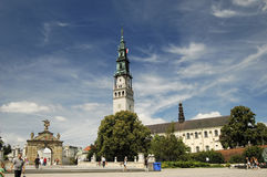 Cathedral in Czestochowa Stock Photography
