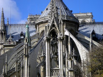 cathedral dame de france notre paris Στοκ Φωτογραφία