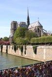 cathedral dame de notre Paris Photo stock