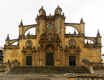 Cathedral in  day time. Jerez de la Frontera Royalty Free Stock Photography