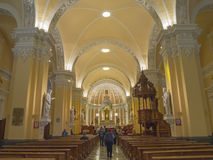 Cathedral de Arequipa, Peru. Stock Image