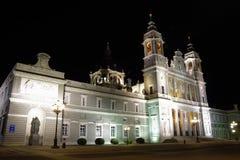 Cathedral de la Almudena, Madrid, Spagna Fotografie Stock