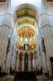 Cathedral de la Almudena, Madrid, Spagna Fotografia Stock
