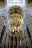 Cathedral de la Almudena, Madrid, Spagna Immagini Stock