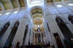 Cathedral de la Almudena, Madrid, Spagna Fotografia Stock Libera da Diritti