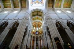 Cathedral de la Almudena, Madrid, Spagna Immagine Stock Libera da Diritti