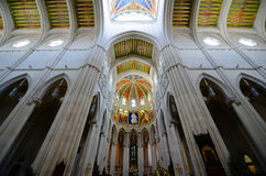 Cathedral de la Almudena, Madrid, Spain Royalty Free Stock Image