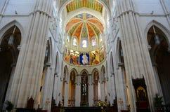 Cathedral de la Almudena, Madrid, Spain Royalty Free Stock Photography