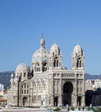 Cathedral de la Major, church and local landmark in Marseille, France Royalty Free Stock Images