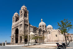 Cathedral De La Major in Marseille Royalty Free Stock Photography