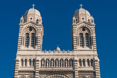 Cathedral de la Major in Marseille, France Royalty Free Stock Images